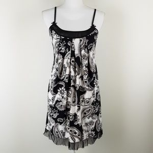 New Directions Floral Paisley Chemise Night Gown